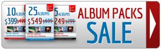 All albums packs on sale
