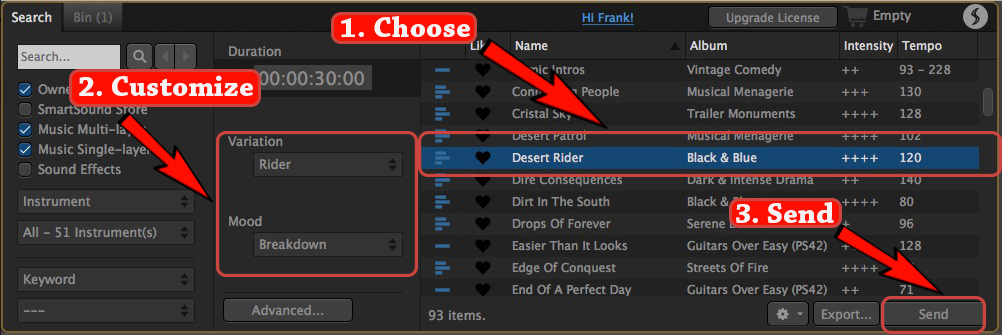 Final Cut Plugin - name the event